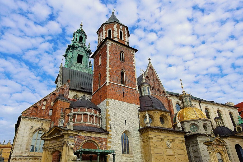 Domkyrkan på Wawelkullen