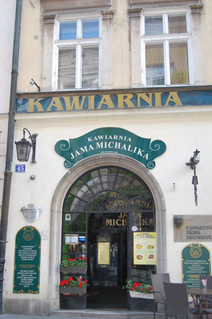 Flanörkaféet Jama Michalika