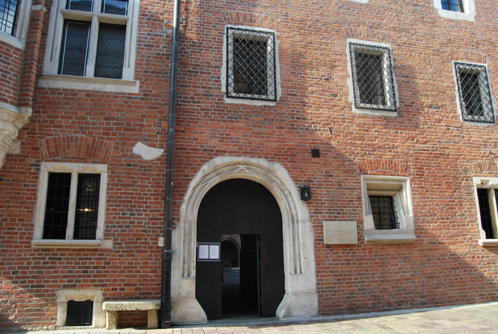 Ingången till Collegium Maius