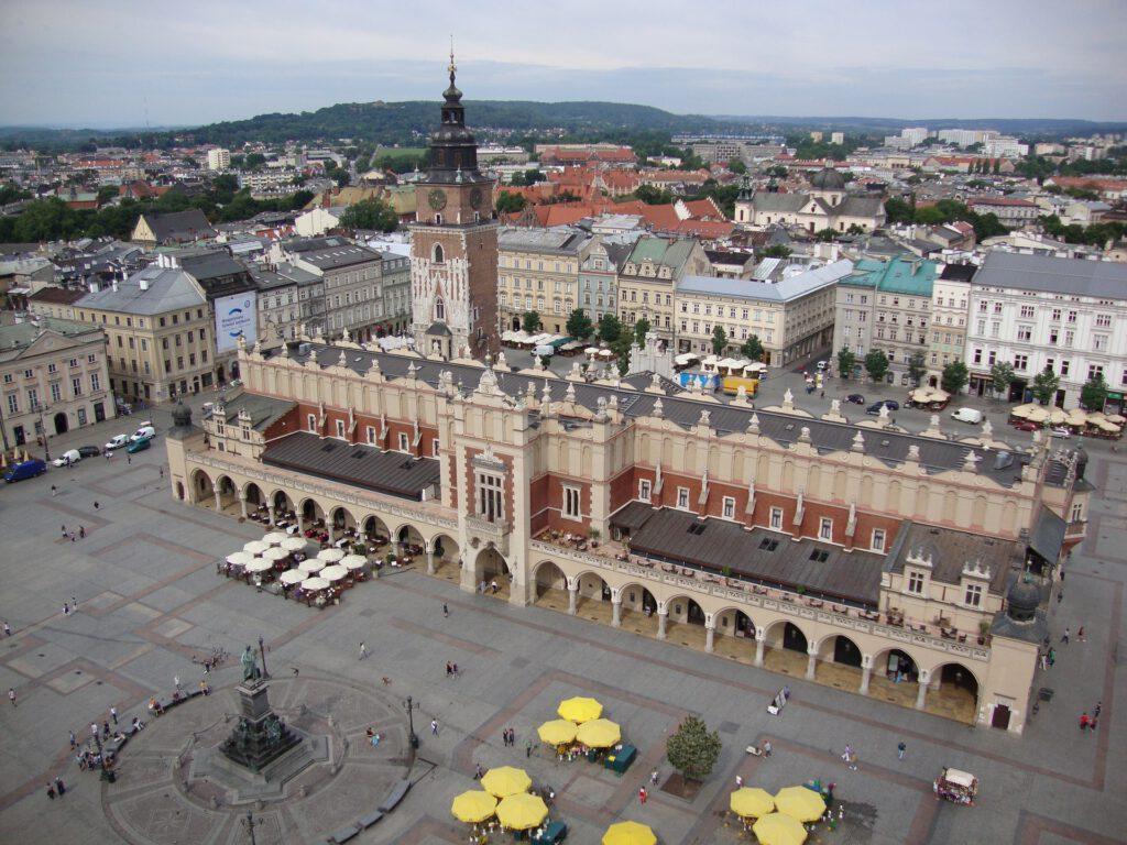 Stora torget – stadens salong och centrum av det krakowska livet
